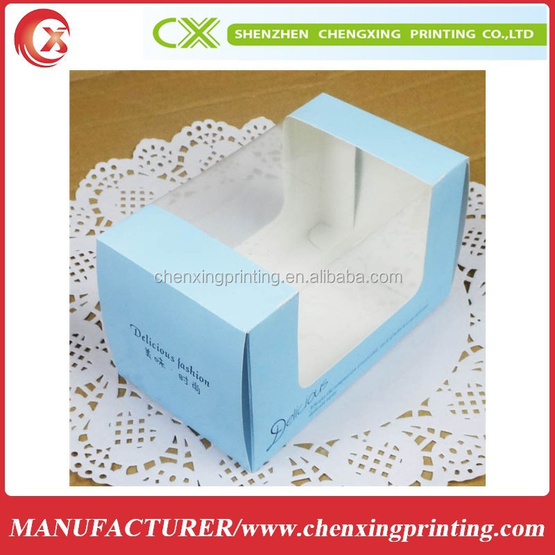 Kraft product packaging box for child soft fabric food box packaging