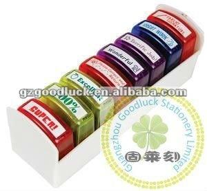 Handy Self Inking Teacher Stamp Set
