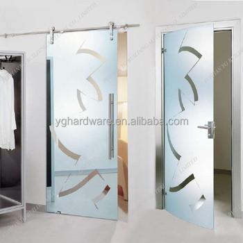 Hanging kitchen patterned sliding door buy patterned for Hanging sliding glass doors
