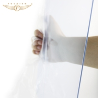 100% imported virgin material transparent rigid pvc sheet for concrete molds