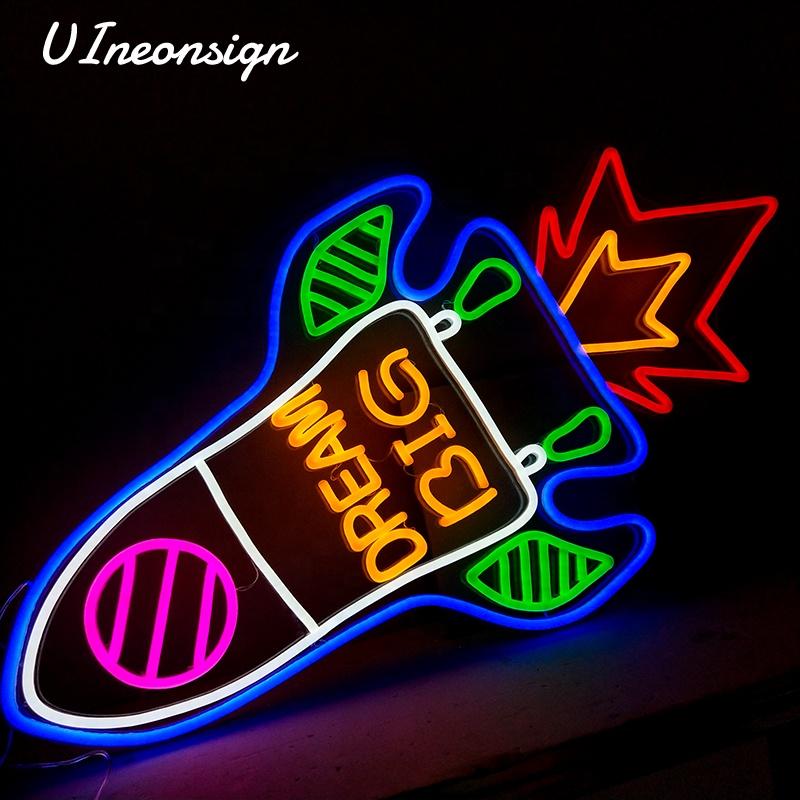 Custom made donna flex LED rosso tubo di luce al neon bar segni per la decorazione della stanza 1300*903mm