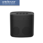 New style mini wireless portable square Subwoofer for outdoor,support OEM/ODM hand-free TF card usb horn speaker
