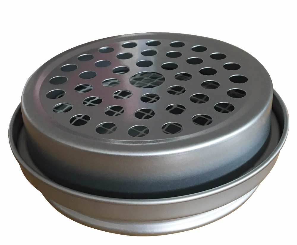 New tin Mosquito Incense coil Holder