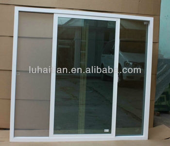 Hot Sale Upvc Sliding Window With Mosquito Mesh With Good