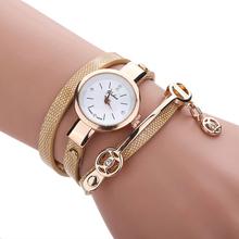 Creative 2015 Fashion Wrist Quartz Watches Women Leather Strap Band Popular Watch Shopping Travel Casual Quartz-watch