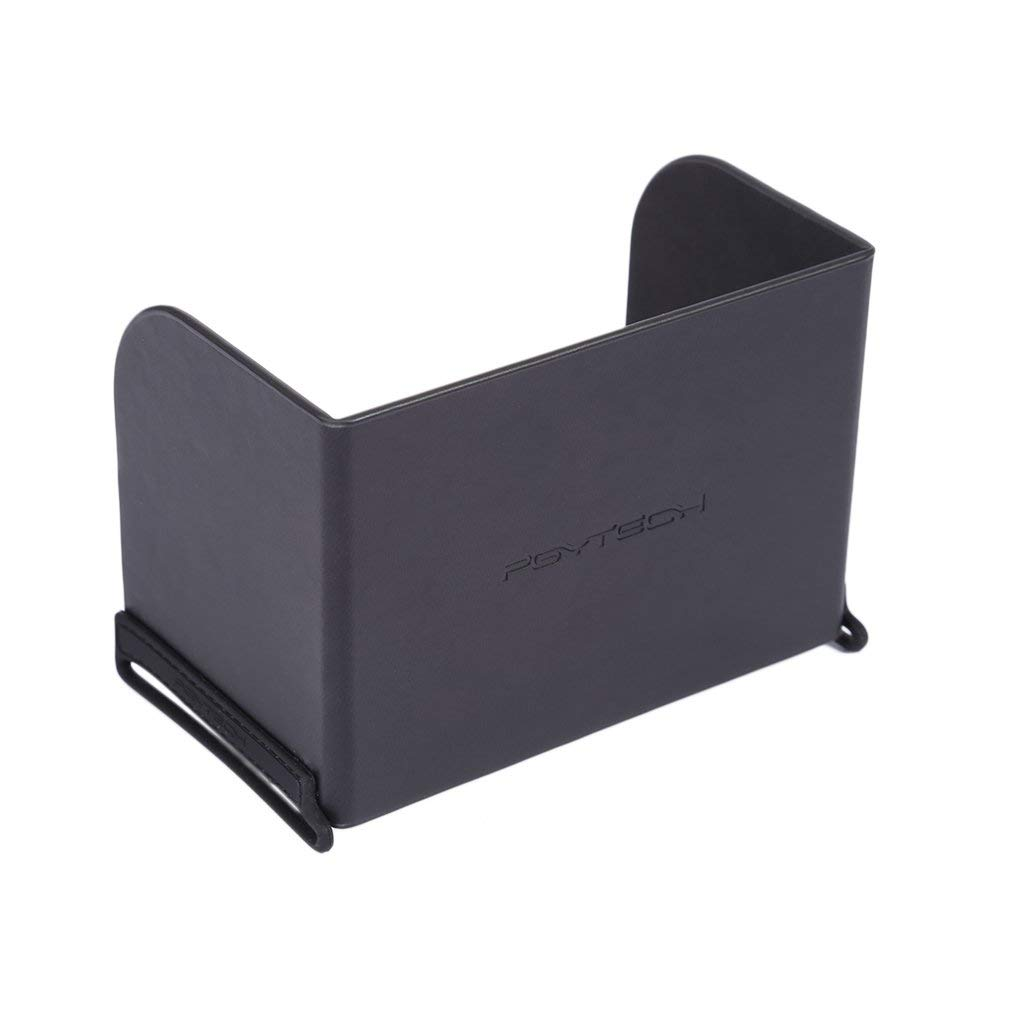 LEMONPET Smartphone/Tablets Monitor Sun hood Sunshade for DJI Spark, Mavic Air, Mavic Pro/Platinum, DJI Phantom 4/3, Inspire, OSMO, M600 Monitor Remote Controller (L128mm for Mobile Phone)
