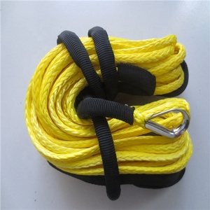Marine Supply 12 Strand UHMWPE Ships mooring rope winch rope synthetic