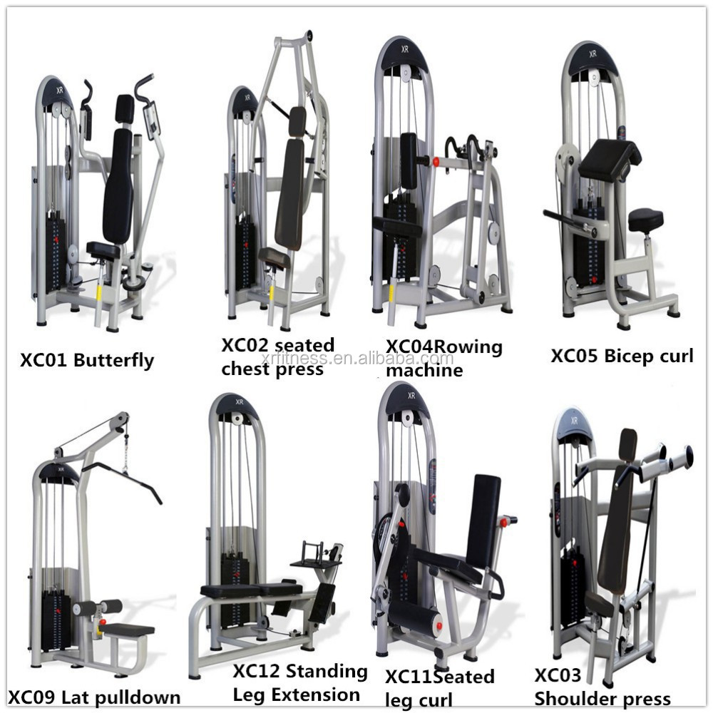 Exercise Gym Equipment Names