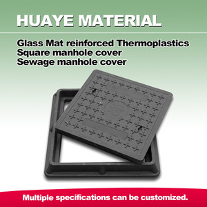 Better than plastic SMC composite manhole cover with frame
