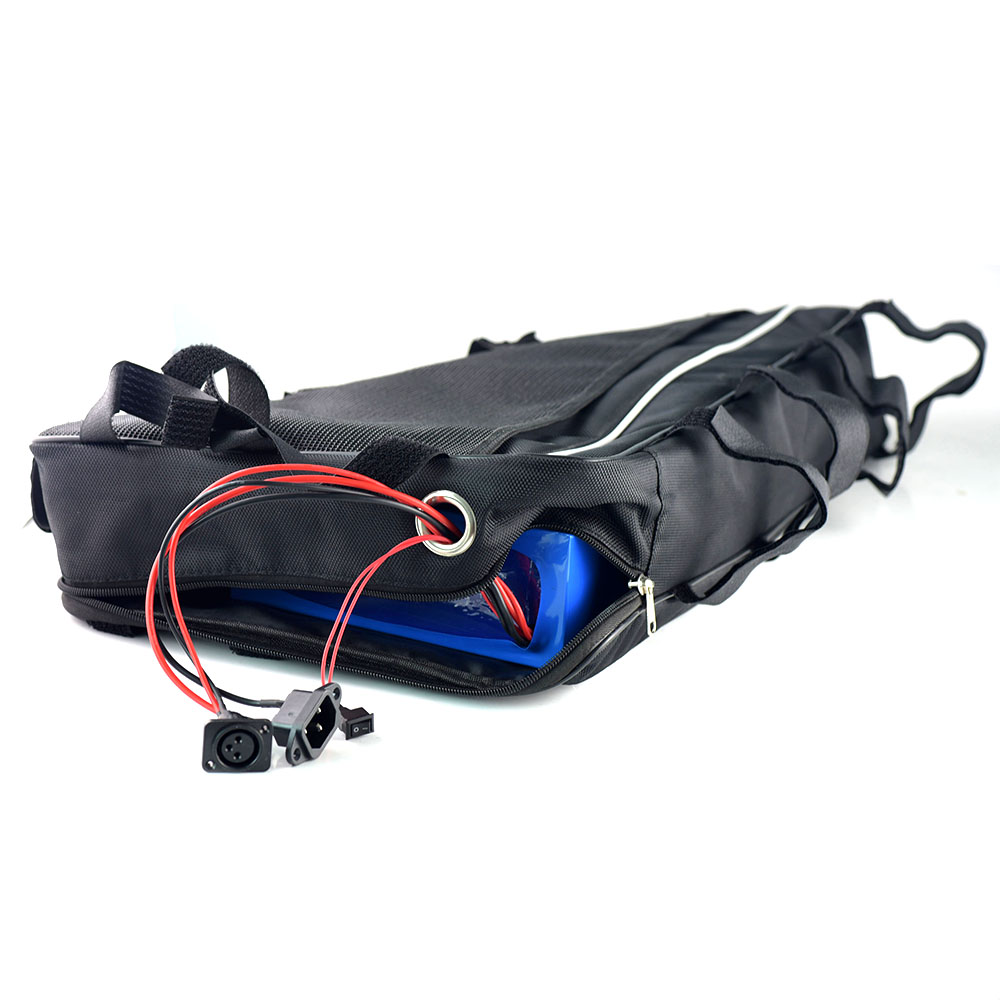 Triangle bag 36volt Electric Bike battery 36V 19.2Ah Lithium ion battery for 1000W motor