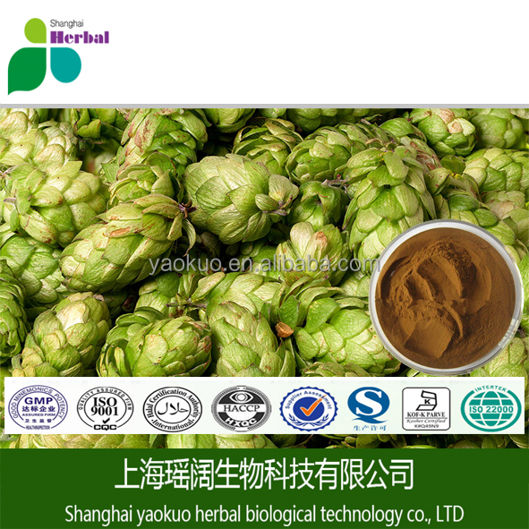 TOP grade Humulus lupulus extract/xanthohumol 2.5%LOW price beer hops powder /6754-58-1 European Hop Spike Extract