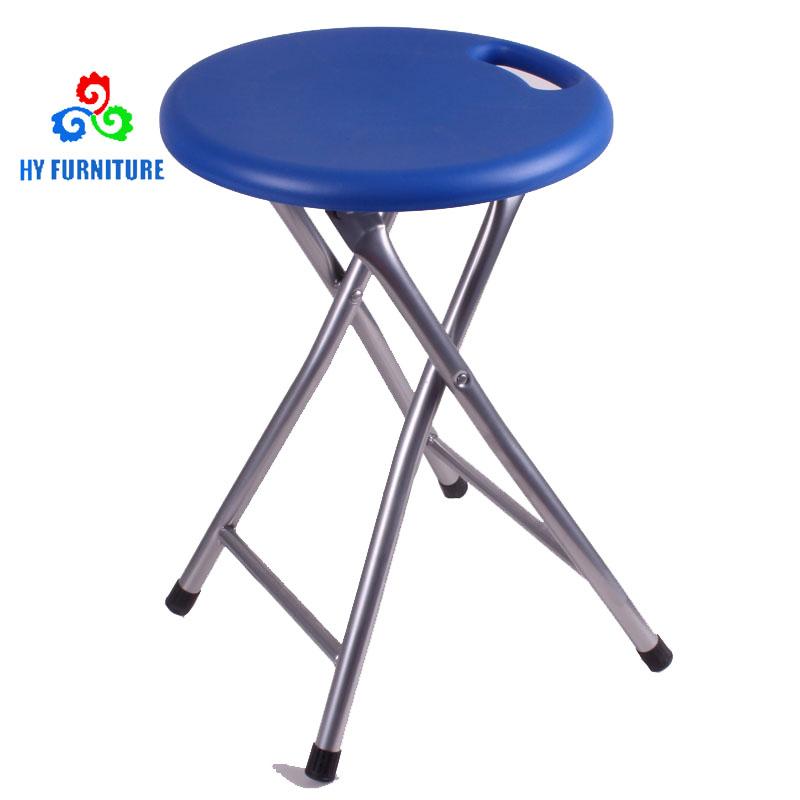 Groovy Heavy Duty Metal Plastic Folding Stool With Handle Spiritservingveterans Wood Chair Design Ideas Spiritservingveteransorg