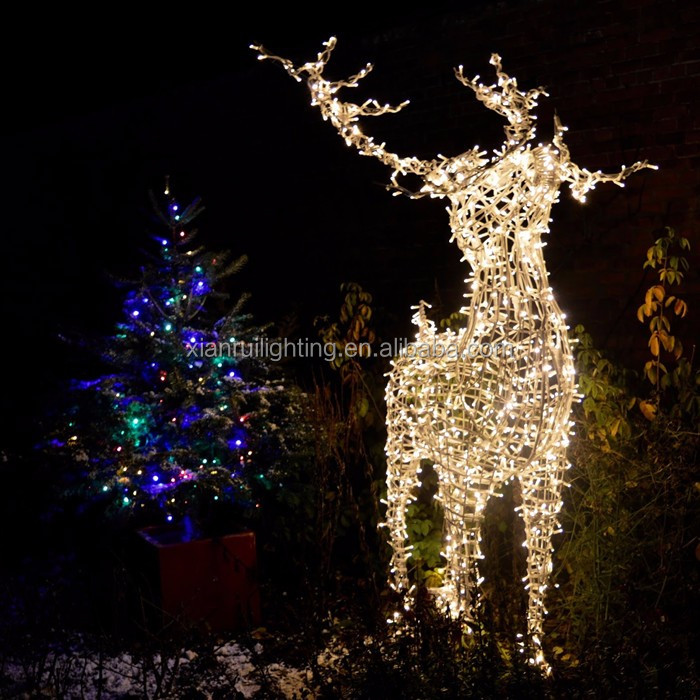 amazing lowes outdoor christmas decorations deer lowes outdoor christmas decorations deer suppliers and at alibabacom with fiber optic christmas trees lowes - Lowes Christmas Decorations Deer