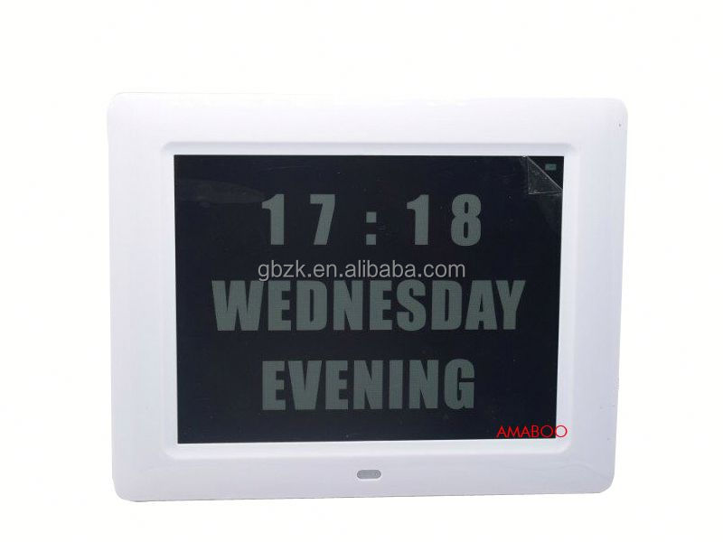 Video, MP3, music, picture multi function large size digital photo frame