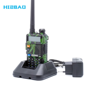 Factory Price 128CH Dual Band 136-174 and 400-520 Mhz FM Radio Baofeng UV-5R China Ham Radio