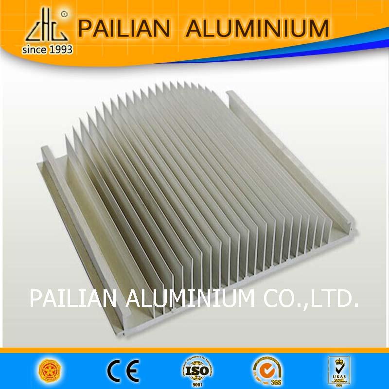 Powder Coating Extrusion Led Strip Aluminium Heat Sink