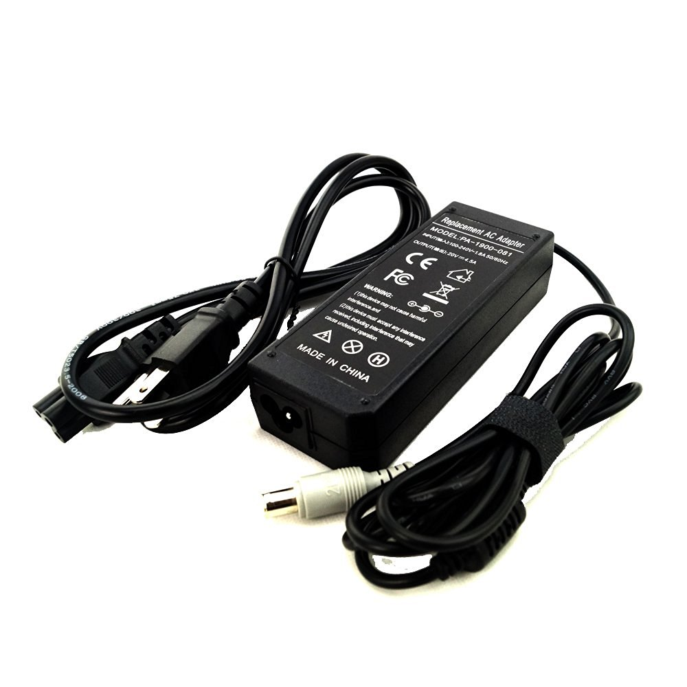 SOLICE® 20V 4.5A 90W Replacement Laptop AC Adapter Power Supply Charger+Cord for IBM Lenovo Thinkpad T400 T410 T420 T500 T510