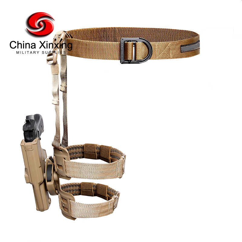 Military Special Forces Quick Release Tactical Right Hand Holster Leg Belt Drop Leg Holster for Glock