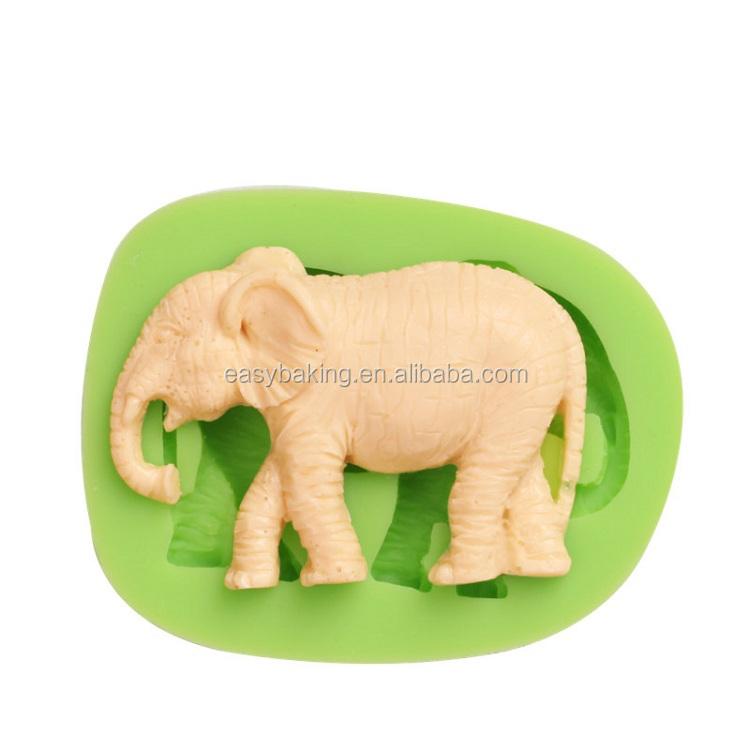 ES-0020 Elephant Silicone Molds Fondant Mould for cake decorating.jpg