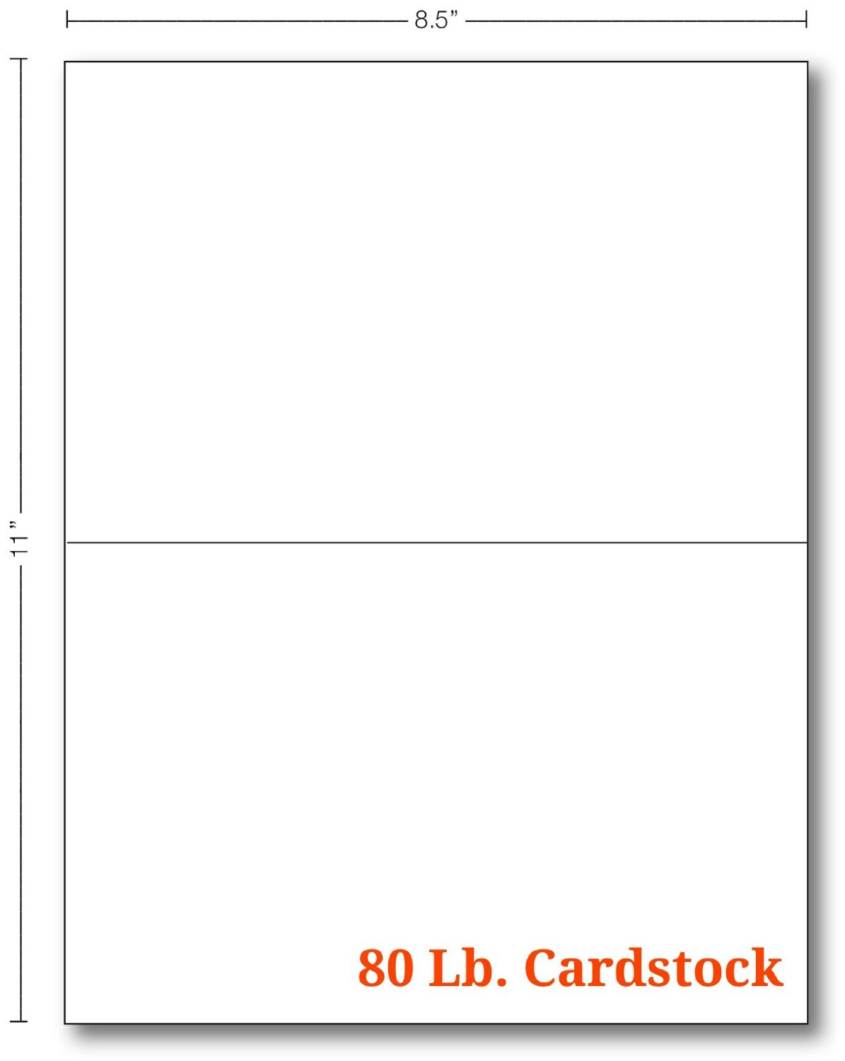 Cheap custom folded greeting cards find custom folded greeting get quotations white half fold greeting cards 100 cards 55 x 85 inches when folded m4hsunfo