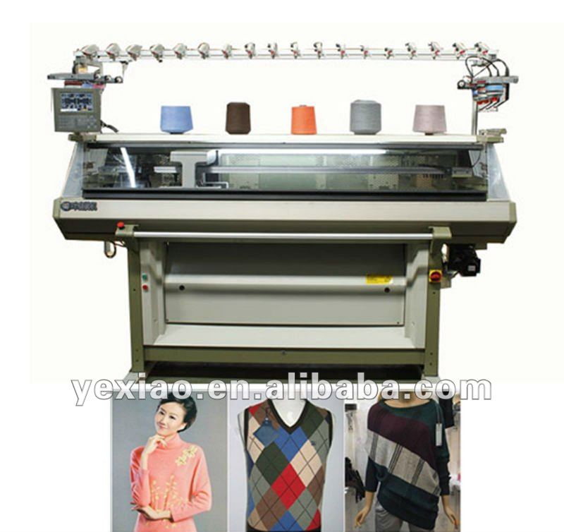 fully fashion computerized sweater flat knitting machine