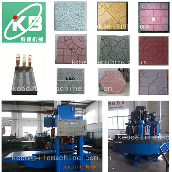 Kbe Terrazzo Tile Machineterrazzo Tile Machineryhydraulic Press - Place and press floor tiles