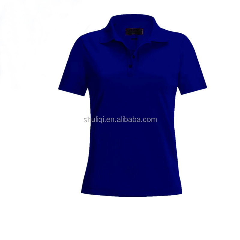 Embroidery design ladies polo collar t shirt buy ladies for Polo t shirt design online