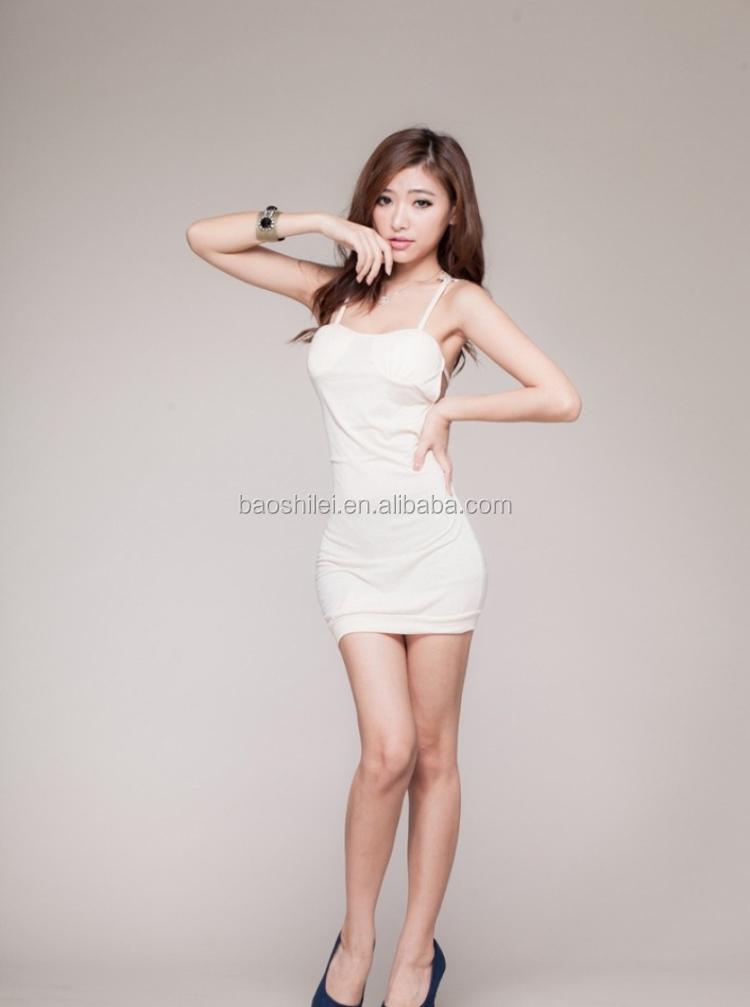 2018 Work Office Elegant Women Sexy Dress Full Sexy Beach Nighty Dress - Buy High -6450