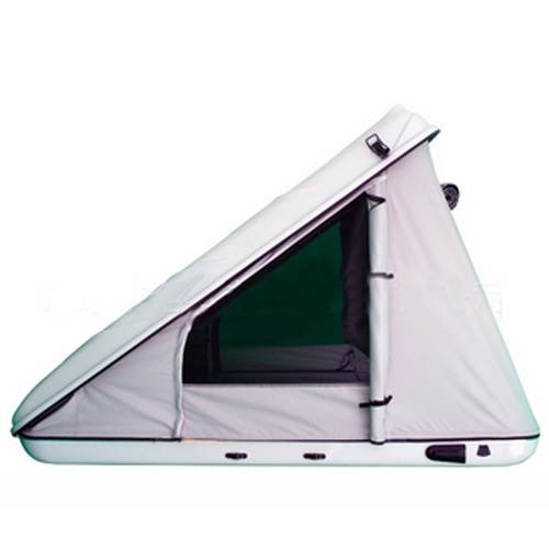 Triangular ABS plastic Car camping Roof Top Tent for sale