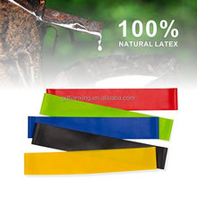 Ab Workout Equipment Exercise Resistance Loop Bands set fitness Equipment 100% Natural Latex