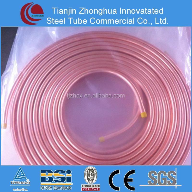 Air conditioner precio tubo de cobre tubos de cobre - Precio de tuberia de cobre ...