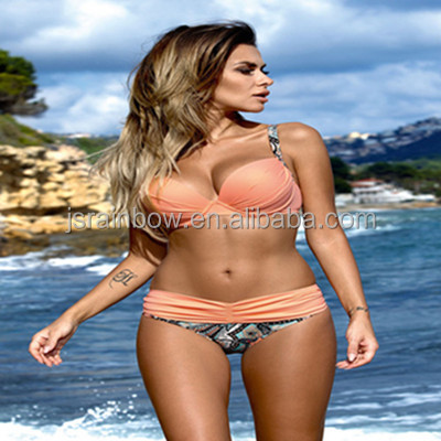 2017 Hot sale sexy bikini latest swimwear woman