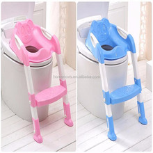 China Factory Wholesale Portable Stepped-assisted Children Toilet Seat Baby Potty Chair