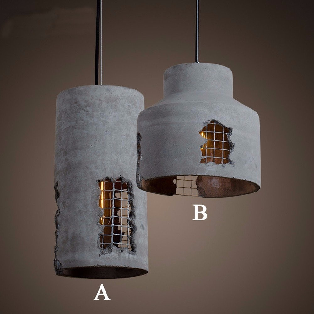 chandeliers and pendant lighting. industrial rail chandeliers hanging lamps, old restaurant concrete cement pendant lighting and i