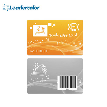 Factory Price NFC Plastic Card With Full Color Printing OEM
