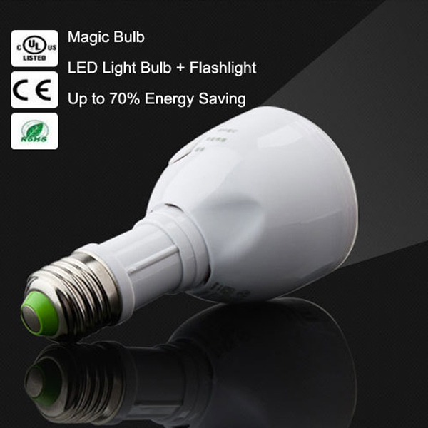 OEM service E27 B22 portable LED emergency bulb light 4w ABS material