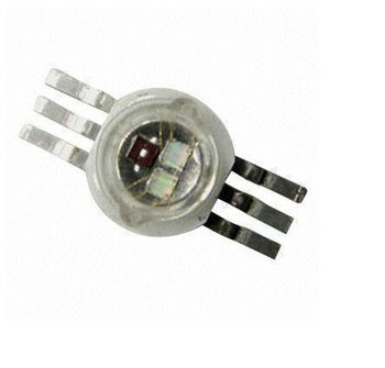 6 Pins 1w Rgb High Power Led Chip 350ma For Stage Lighting