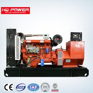 china weifang high quality Ricardo 125kva 100kw turbine diesel generator