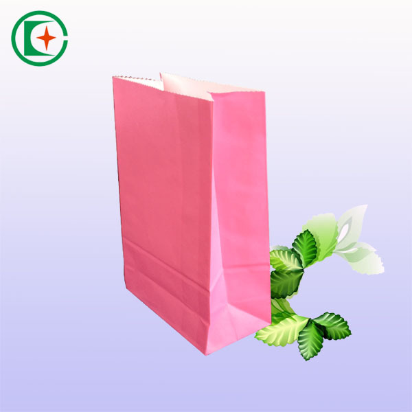 China supplier pink gift paper bag fot gift paper value bag