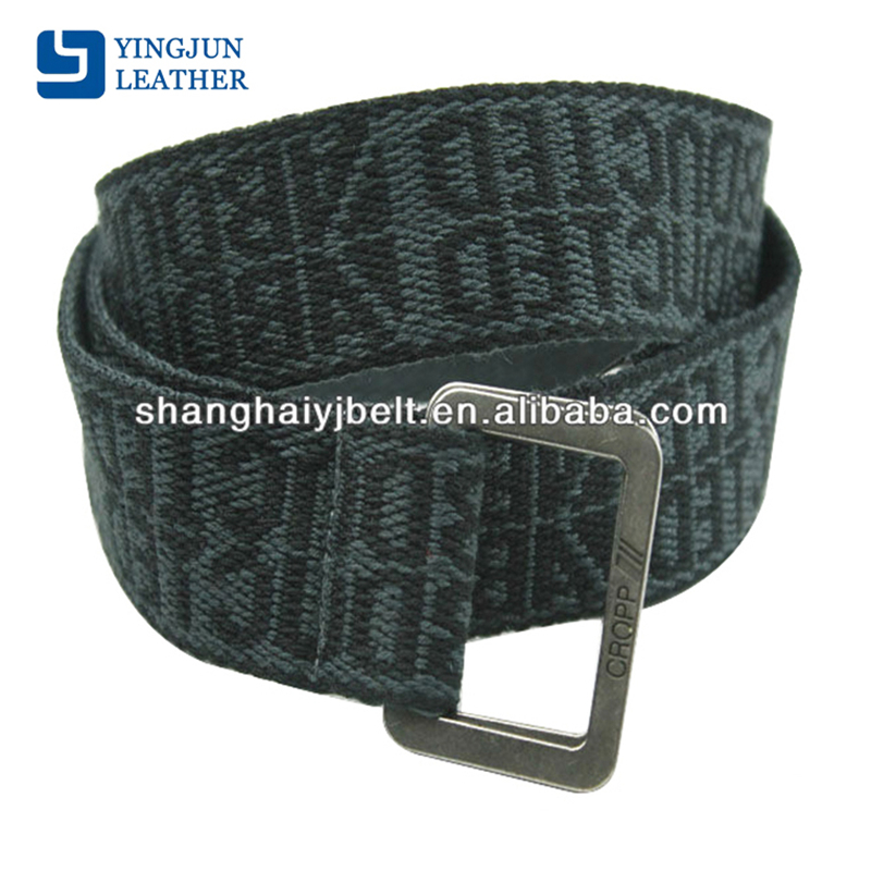 fashion man jacquard canvas belts