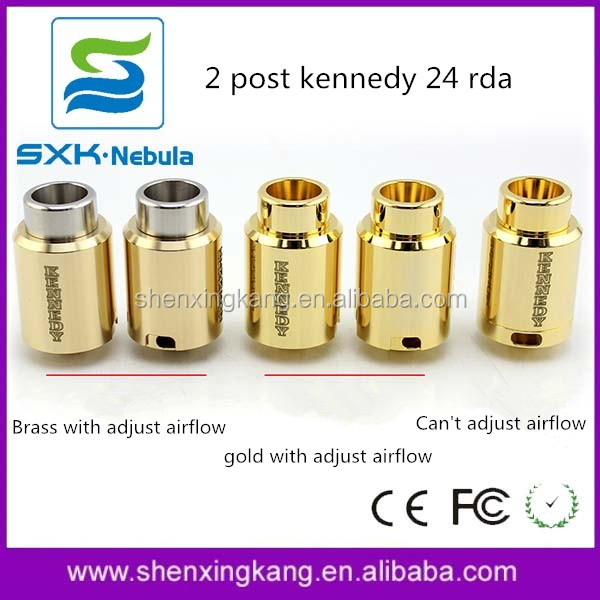 SXK New Design Kennedy 24 Trickster RDA 1:1 Clone Gold-plated Kennedy 24 rda