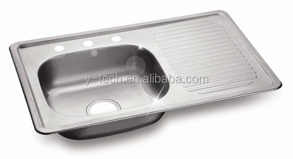Lavabo Stainless Steel Kitchen Equipment Kitchen Sink Drain Parts Ykm80l