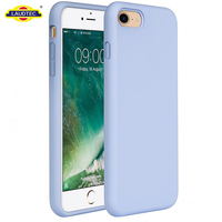 Cover Case For iPhone 7, Shockproof Cover Liquid Silicone Case for iphone 7