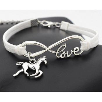 Fashion Women Accessory Custom Infinity Bracelet