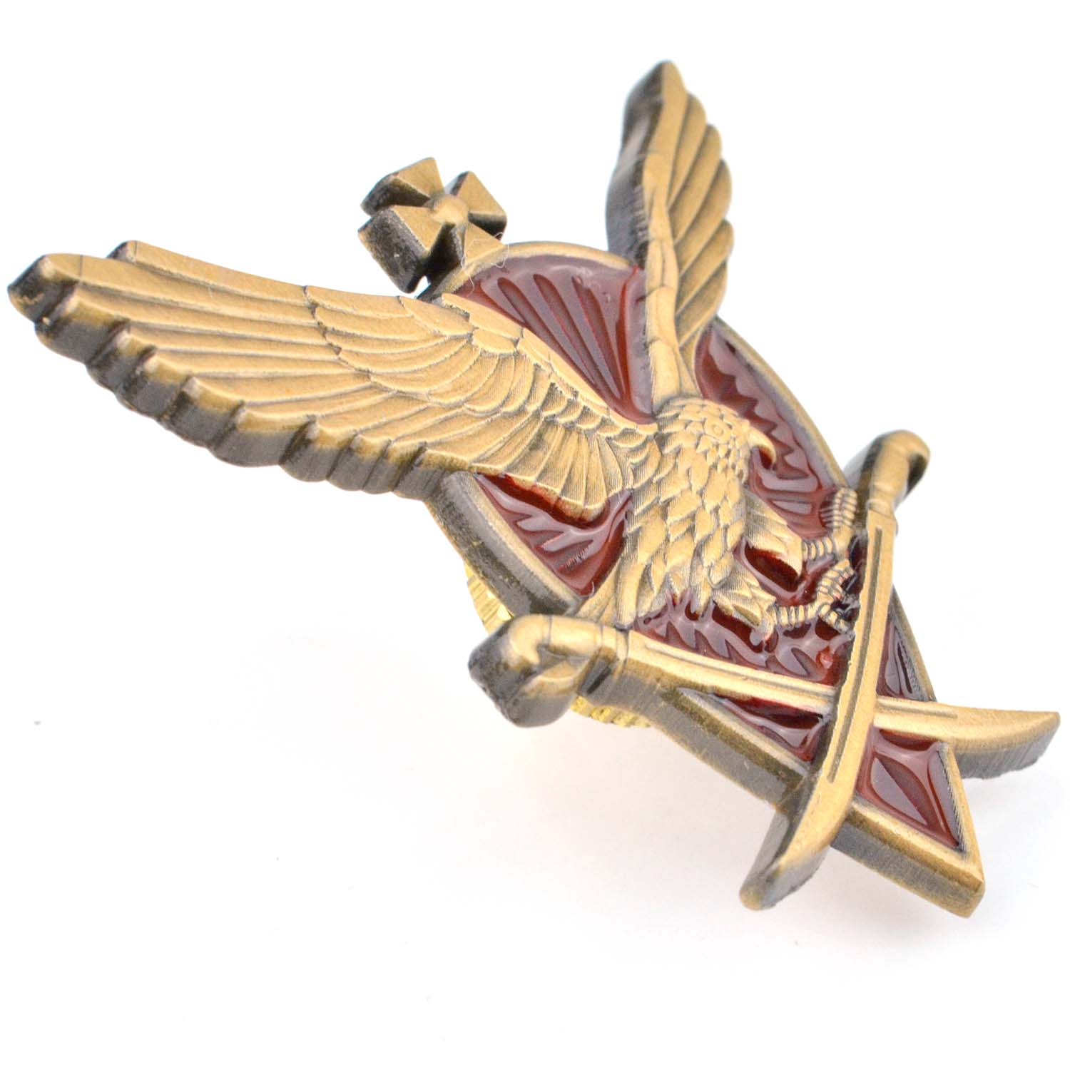 Custom 3D metal enamel lapel pin and eagle pin badge wholesale