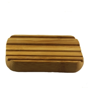 China Supplier bamboo wooden soap dish