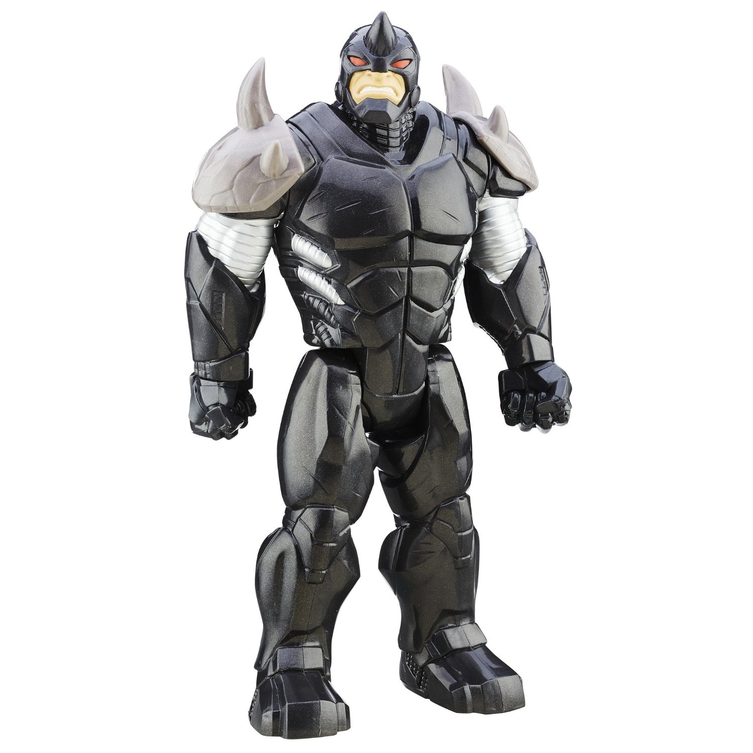 Spider-Man Ultimate vs. The Sinister Six: Titan Hero Series Marvel's Rhino with Gear
