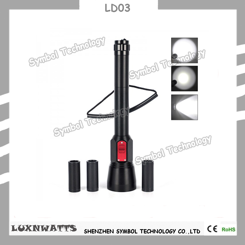 Underwater superbright scuba diving light 3 modes diving lamp