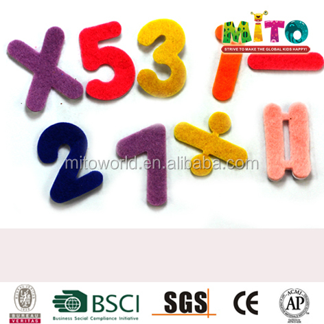 kids arts and crafts Eva Magnetic Letter And Number