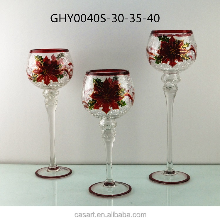 wholesale crackle glass candle holder wholesale crackle glass candle holder suppliers and at alibabacom